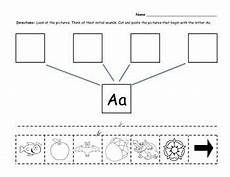 letter l worksheets cut and paste 23203 beginning sounds initial sounds lettering beginning sounds