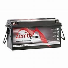 zenith lithium batterie lifepo4 12v 100ah im k 246 der laden