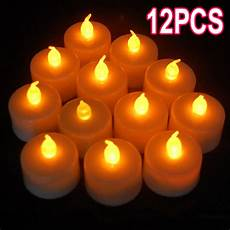 candele led a batteria nuovo 12 x led intermittente a batteria lumini lumino