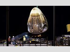 dragon crew capsule launch