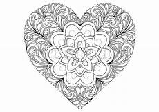 Malvorlagen Herz Xing Coloring Page Printable By Fleurdoodles