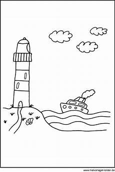 Malvorlagen Strand Und Meer Kostenlos Malvorlage Leuchtturm Abschied Klasse 9