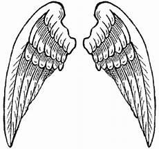 printable wings clipart best