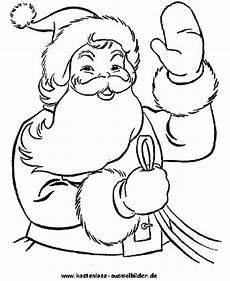 weihnachtsmann weihnachten ausmalen malvorlagen
