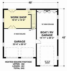 rv garage house plans carriage house apartment with rv garage 20128ga