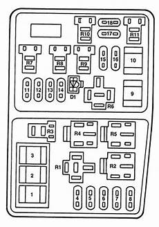 fuse box for mercury mercury mystique 1995 1996 fuse box diagram auto genius