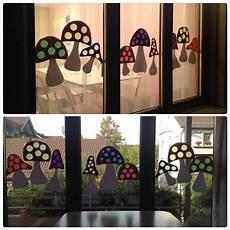 Fensterbilder Weihnachten Vorlagen Grundschule Herbstfenster Basteln Herbst Herbstdeko Basteln