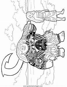 vaiana 05 gratis malvorlage in comic trickfilmfiguren