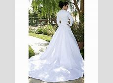 Modest wedding gowns for muslims   Wedding gowns 2013