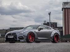 Nissan GT R R35 Tuning  Widebody Aerodynamik Kit M&ampD