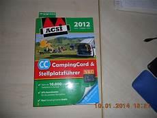 acsi card kaufen acsi stellplatzf 252 hrer wohnmobil forum seite 1