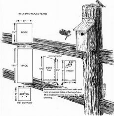 bluebird house plan bluebird house plans critter crafts pinterest