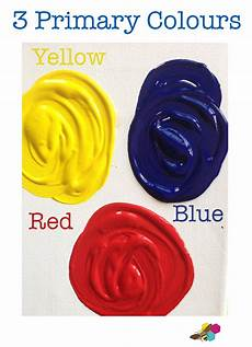 kids mixing primary colors into secondary