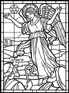 coloring page from amazing stained glass