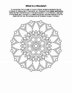 mandala history worksheet 15925 mandala color sheet radial symmetry worksheet activity by artrageous