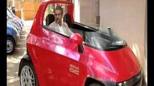 Mahindra Reva Small Electric Car First Look Video Watch