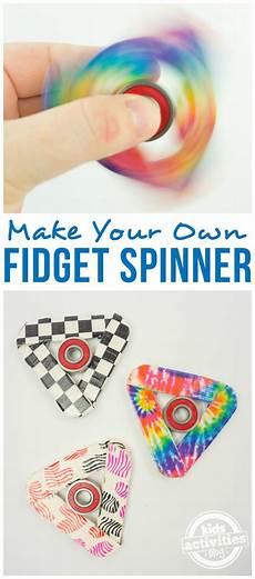 How To Make A Fidget Spinner Kinder Kinderbasteleien