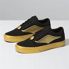 vans x harry potter golden snitch skool sneakers