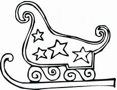 santa sleigh coloring pages printable at getcolorings