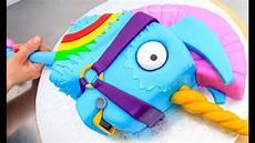 Malvorlagen Unicorn Cake Fortnite Cake Rainbow Llama Unicorn Battle Royale Cake