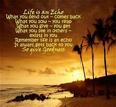life is an echo quotes and poems i like pinterest