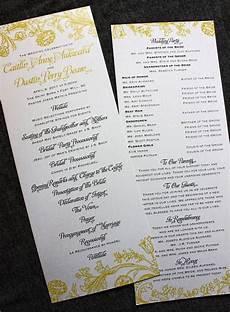 creative wedding programs creative wedding programs wedding programs wedding ceremony programs