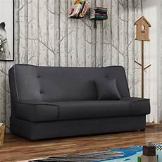 sofa mit bettkasten 2 sitzer sofa mit schlaffunktion bettkasten