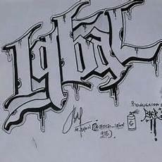 Gambar Grafiti Nama Tulisan Huruf Keren A Z