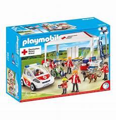 playmobil set 9537 ger drk versorgungszelt mit notarzt