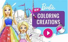 coloring creations game barbie