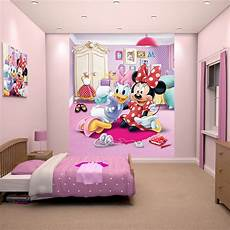 walltastic disney minnie mouse wallpaper mural