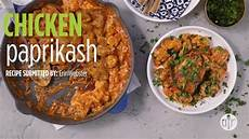 how to make chicken paprikash dinner recipes