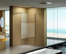 Walk In Dusche Milchglas - 140x200 cm duschabtrennung mitte milchglas