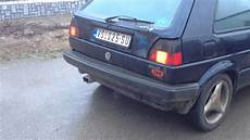 vw golf 1 8 gti remus exhaust