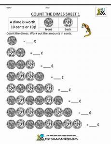 money counting worksheets free printable 2722 counting money worksheets count the dimes 1 money worksheets counting money worksheets 1st