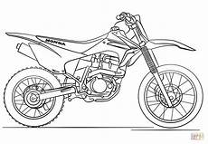 Ausmalbilder Kostenlos Ausdrucken Motocross Ausmalbild Honda Motocross Motorrad Ausmalbilder