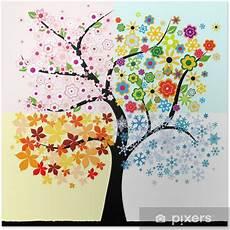 Vier Jahreszeiten Malvorlagen Ninjago Poster Vier Jahreszeiten Baum Pixers 174 Wir Leben Um Zu