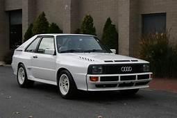 One Of 224 1985 Audi Sport Quattro SWB