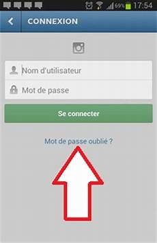 recuperer mot de passe comment r 233 cup 233 rer et modifier le mot de passe instagram