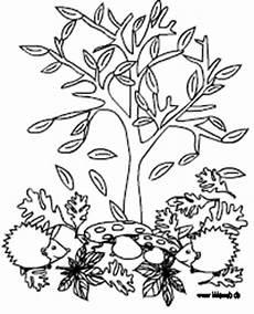 Malvorlagen Herbst Baum Gratis Malvorlagen Herbst
