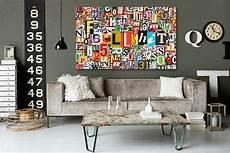 tableau design abstrait alphabet izoa