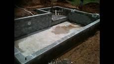 Construire Sa Piscine Hors Sol En Beton Piscine Traditionnelles En B 233 Ton Arm 233 Avec Petit Bassin Et