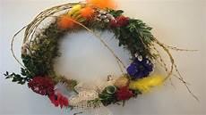 Osterkranz Mit Moos T 252 Rkranz Deko Ideen Mit Flora Shop