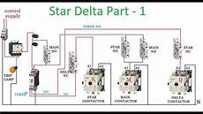 star delta starter part 1 youtube