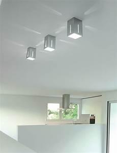 soffitto con faretti sikrea lada da soffitto ikaro g alluminio spazzolato