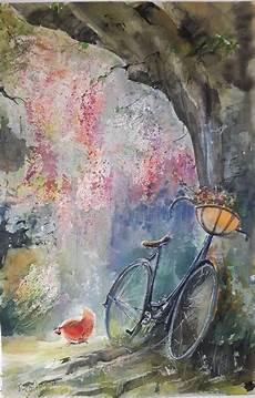 Malvorlagen Sommer Romantik Sommeridyll Baum Sommer Schatten Romantik Malmuse