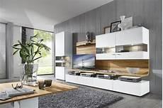 Möbel Weiß Holz - gwinner felino wohnm 246 bel programm wohnzimmer wei 223 holz