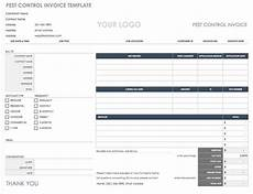 pest receipt template 55 free invoice templates smartsheet