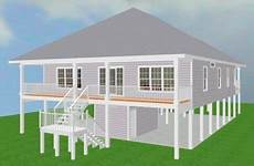 coastal house plans on pilings elevated piling and stilt house plans coastal home plans