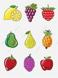 Gambar Buah Dan Sayur Kartun Png Koleksi Gambar Hd